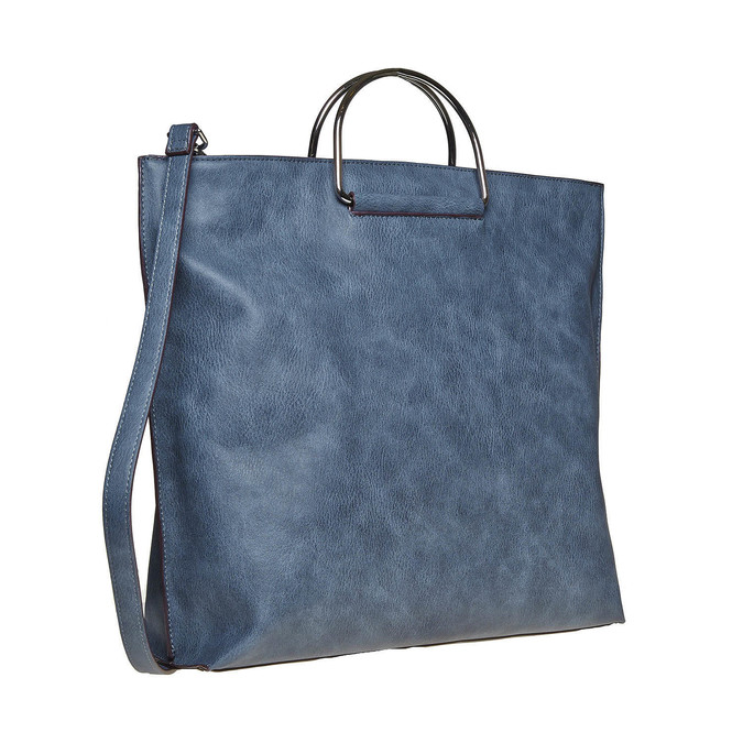 Niebieska torba damska bata, niebieski, 961-9327 - 13