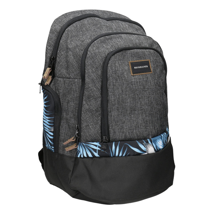 Szary plecak quiksilver, szary, 969-2035 - 13