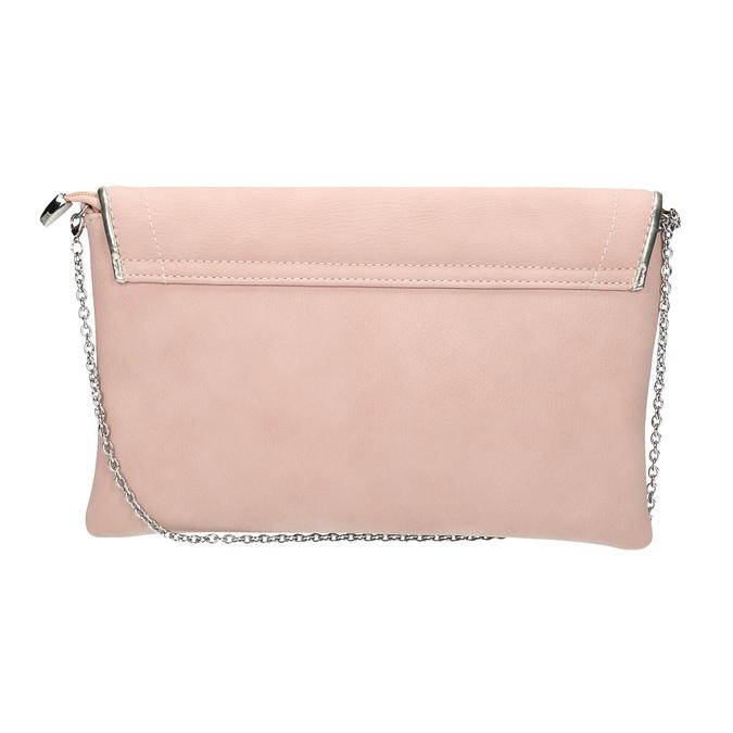 Różowa kopertówka bata, różowy, 961-5708 - 19