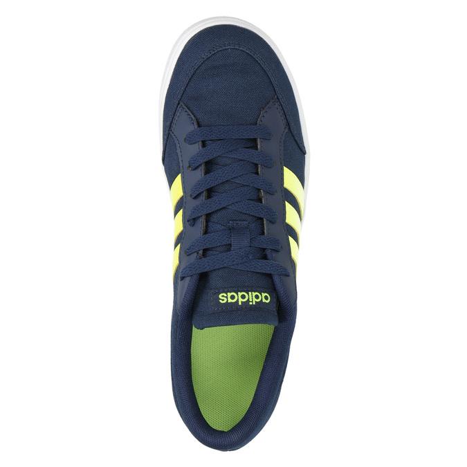 Niebieskie trampki chłopięce adidas, niebieski, 489-8119 - 19