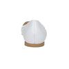 Białe skórzane baleriny bata, biały, 524-1604 - 17