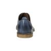 Granatowe skórzane półbuty bata, niebieski, 826-9601 - 17