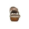Skórzane sandały oszerokościH bata, brązowy, 566-4604 - 17