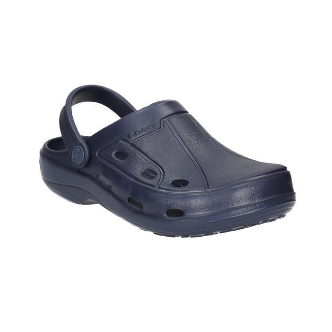 Granatowe sandały dziecięce coqui, niebieski, 472-9610 - 13