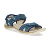 Skórzane sandały wstylu outdoor weinbrenner, niebieski, 566-9608 - 13