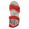 Czerwone sandały damskie ze skóry weinbrenner, czerwony, 566-5608 - 19