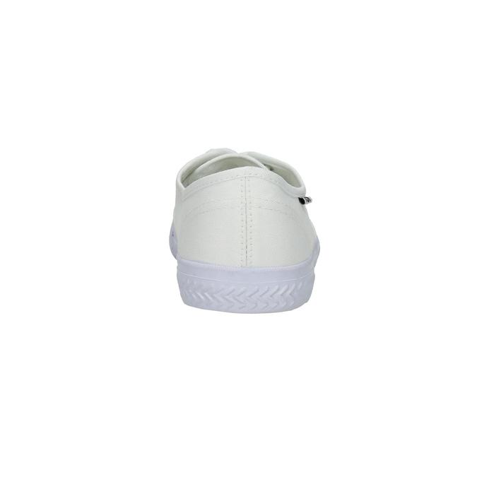 Białe nieformalne trampki tomy-takkies, biały, 889-1227 - 17