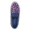 Obuwie dziewczęce typu slip-on mini-b, niebieski, 329-9611 - 19