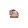 Skórzane japonki damskie bata, czerwony, 566-5607 - 17