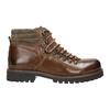 Skórzane buty z oryginalnym sznurowaniem bata, brązowy, 894-4180 - 15