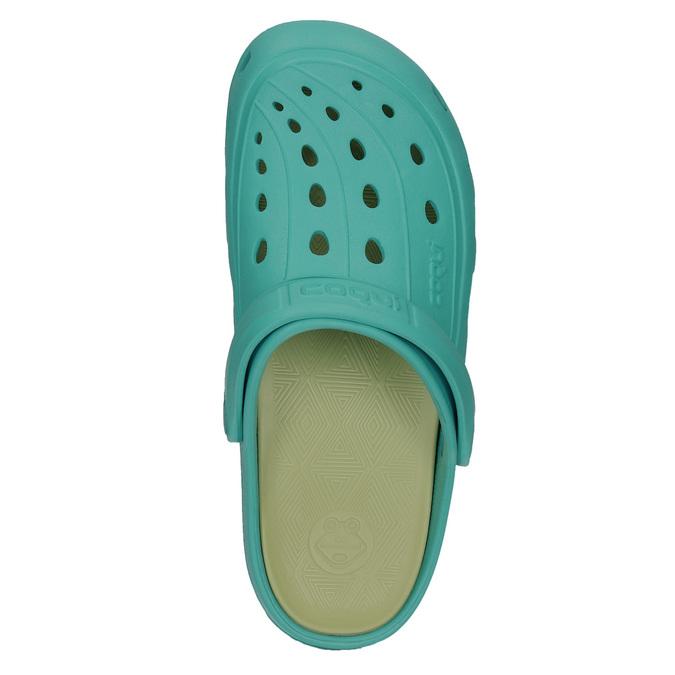 Turkusowe sandały damskie coqui, 572-9606 - 26