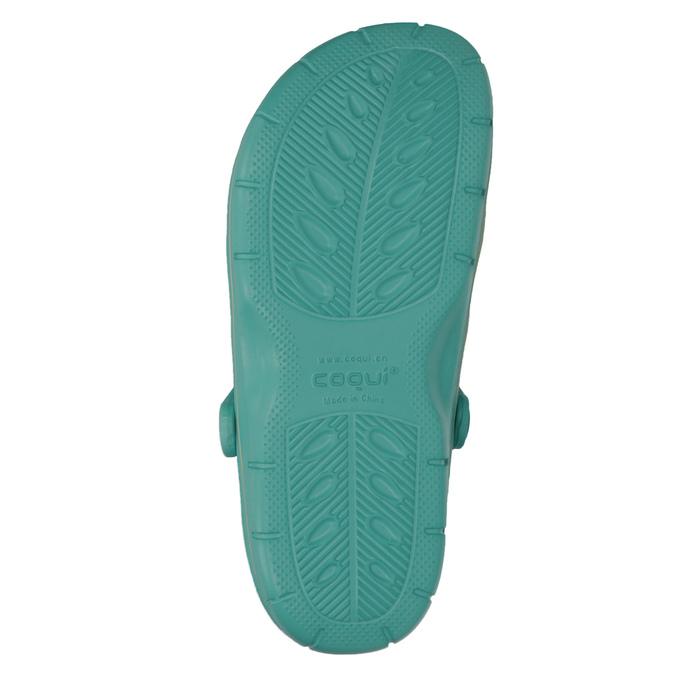 Turkusowe sandały damskie coqui, niebieski, 572-9606 - 19