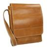 Skórzana torba męska typu crossbody bata, brązowy, 964-3283 - 13