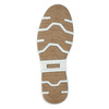 Skórzane trampki męskie za kostkę bata, czarny, 846-6641 - 19