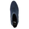 Granatowe kozaki damskie bata, niebieski, 799-9615 - 26