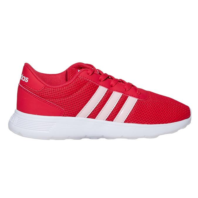 Czerwone trampki dziecięce adidas, czerwony, 409-5288 - 15