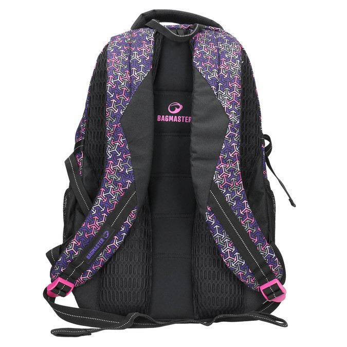 Plecak szkolny bagmaster, fioletowy, 969-5648 - 19