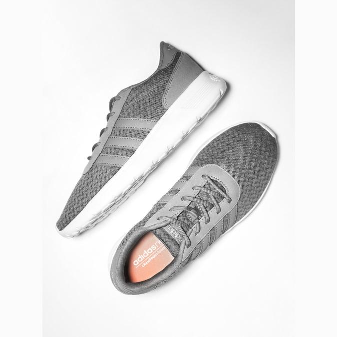 Szare trampki damskie adidas, szary, 509-2198 - 19