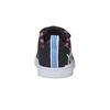 Trampki dziecięce znadrukiem adidas, czarny, 101-6133 - 17