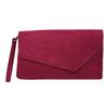 Bordowa kopertówka damska bata, czerwony, 969-5665 - 19