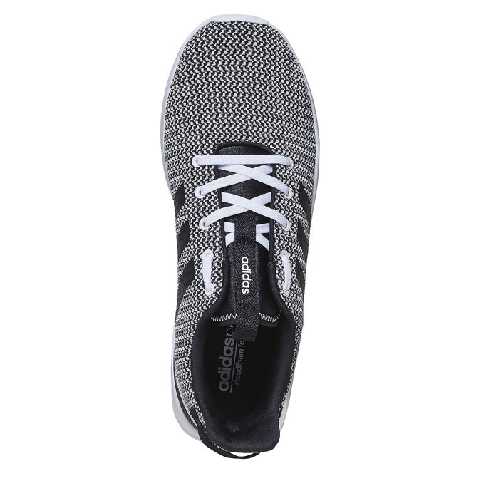 Trampki wsportowym stylu adidas, czarny, 809-6201 - 19