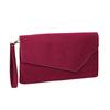 Bordowa kopertówka damska bata, czerwony, 969-5665 - 13