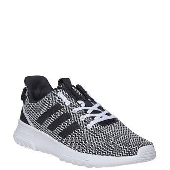 Trampki wsportowym stylu adidas, czarny, 809-6201 - 13