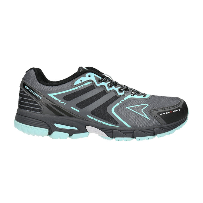 Sportowe obuwie damskie power, szary, 509-2226 - 26