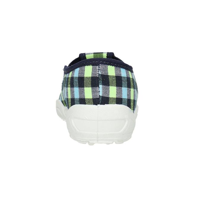 Kapcie dziecięce mini-b, niebieski, multi color, 379-0213 - 17