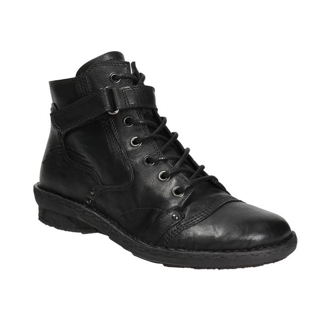 Botki damskie bata, czarny, 596-6656 - 13