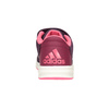 Fioletowe trampki dziecięce adidas, fioletowy, 301-5194 - 16