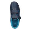 Niebieskie trampki dziecięce adidas, niebieski, 301-9197 - 15
