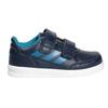 Trampki dziecięce na rzepy adidas, niebieski, 101-9161 - 26