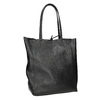 Skórzana torba wstylu shopper bata, czarny, 964-6122 - 13