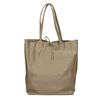 Skórzana torba damska zkokardą bata, beżowy, 964-2122 - 26