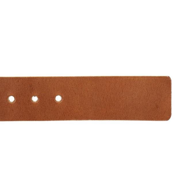 Skórzany pasek męski bata, brązowy, 954-3191 - 16