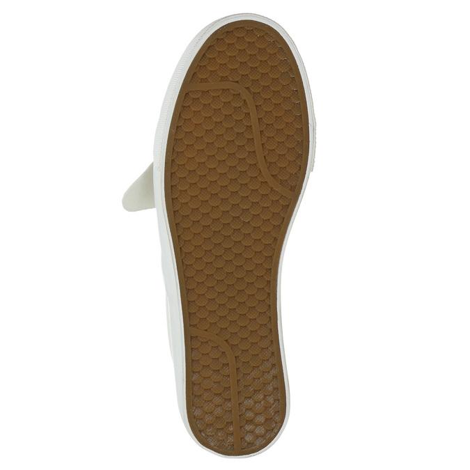 Skórzane slip-on damskie bata, różowy, 516-5614 - 19