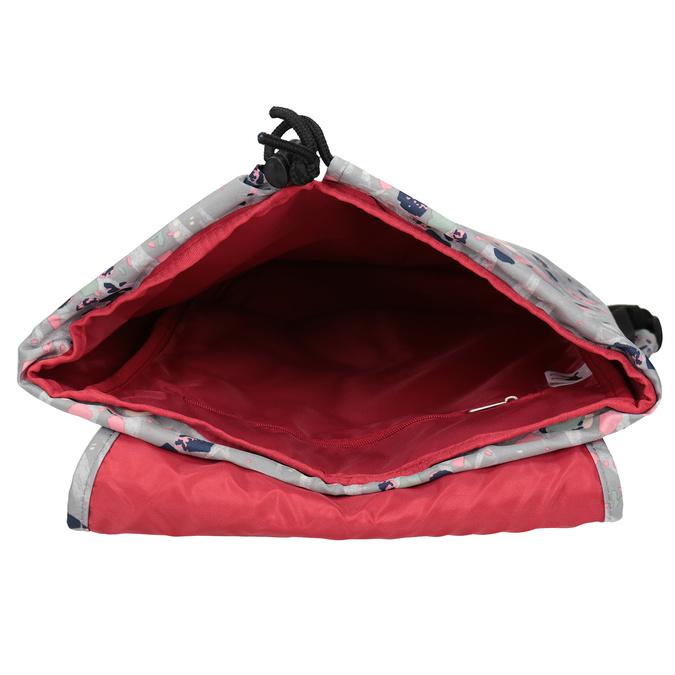 Plecak wkolorowy deseń, szary, 969-2080 - 15