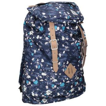 Plecak wkolorowy deseń, niebieski, 969-9076 - 13