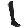 Czarne kozaki damskie za kolana bata, czarny, 699-6634 - 13