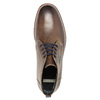 Skórzane buty męskie za kostkę bata, brązowy, 826-4614 - 19