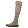 Brązowe kozaki damskie za kolana bata, brązowy, 699-3634 - 26