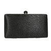 Sztywna kopertówka damska bata, czarny, 969-6660 - 17