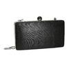 Sztywna kopertówka damska bata, czarny, 969-6660 - 13