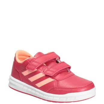 Różowe trampki dziecięce adidas, różowy, 301-5197 - 13
