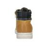 Zimowe obuwie dziecięce na kontrastowej podeszwie mini-b, brązowy, 311-8611 - 17
