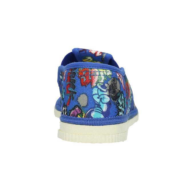 Niebieskie kapcie dziecięce bata, niebieski, 379-9124 - 16