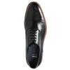 Półbuty typu oksfordy, wykonane wcałości ze skóry bata, czarny, 824-6414 - 26