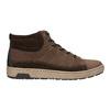 Trampki męskie za kostkę bata, brązowy, 846-4651 - 15