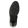 Skórzane botki gabor, czarny, 716-6028 - 19
